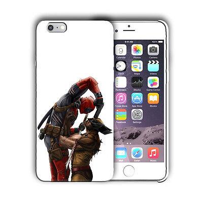 Super Hero Deadpool Iphone 4 4s 5 5s SE 6 7 8 X XS Max XR 11 Pro Plus Case n6