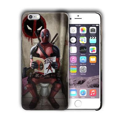 Super Hero Deadpool Iphone 4s 5 5s SE 6 6s 7 8 X XS Max XR 11 Pro Plus Case n13