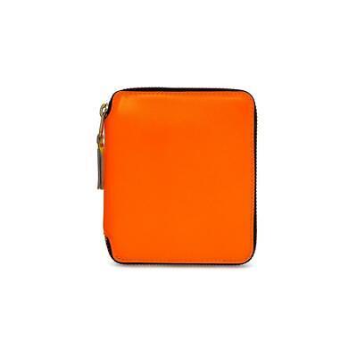 Comme Des Garçons SA2100SF Orange Leather Unisex Wallet BNIB $189 -50% OFF