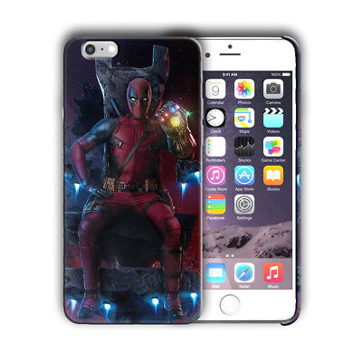 Super Hero Deadpool Iphone 4s 5 5s SE 6 6s 7 8 X XS Max XR 11 Pro Plus Case n14