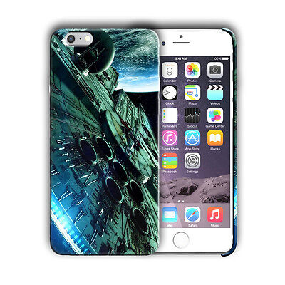 Star Wars Falcon Iphone 4s 5 SE 6 7 8 X XS Max XR 11 Pro Plus Case Cover n45