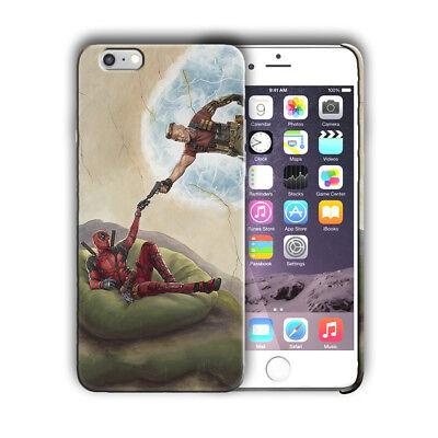 Super Hero Deadpool 2 Iphone 4s 5 5s SE 6 6s 7 8 X XS Max XR 11 Pro Plus Case 9