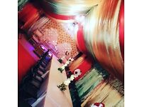 WEDDING STAGES, MARQUEE, HOUSELIGHTS, TENTS, CHAIR AND TABLE HIRE