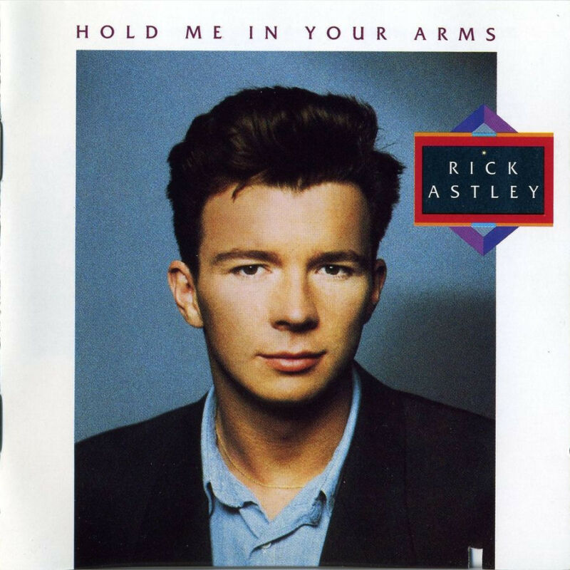 Rick Astley - Hold Me in Your Arms - cassette tape