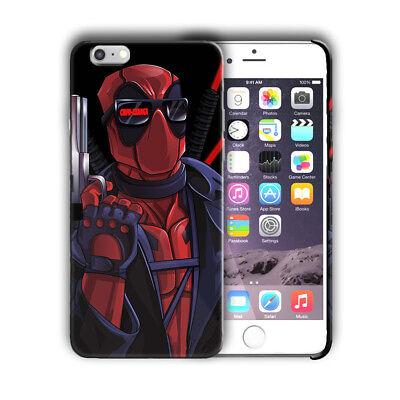 Super Hero Deadpool Iphone 4 4s 5 5s SE 6 7 8 X XS Max XR 11 Pro Plus Case nn5