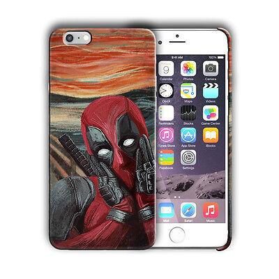 Super Hero Deadpool Iphone 4 4s 5 5s SE 6 7 8 X XS Max XR 11 Pro Plus Case n5