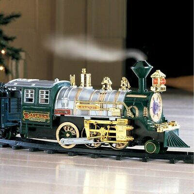Christmas Tree Trains Sets (Traditional Around the Christmas Tree Train Set Decoration Music Sound &)