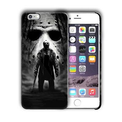 Halloween Jason Mask Horror Iphone 4s 5 5s 5c 6 6s 7 8 X XS Max XR Plus Case n8