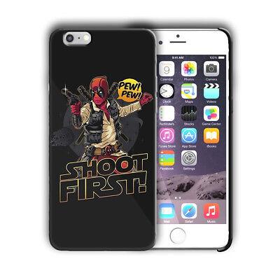 Super Hero Deadpool Iphone 4 4s 5 5s SE 6 7 8 X XS Max XR 11 Pro Plus Case nn1