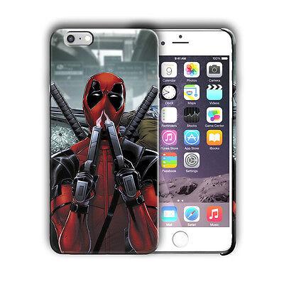 Super Hero Deadpool Iphone 4 4s 5 5s 5c SE 6 6s 7 8 X XS Max XR Plus Case n2