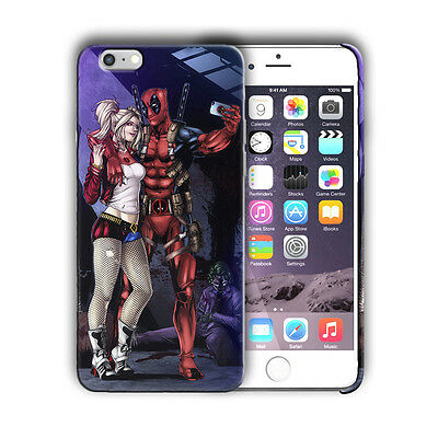 Super Hero Deadpool Iphone 4 4s 5 5s SE 6 7 8 X XS Max XR 11 Pro Plus Case n7
