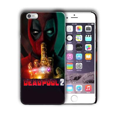 Super Hero Deadpool 2 Iphone 4s 5 5s SE 6 6s 7 8 X XS Max XR 11 Pro Plus Case 4