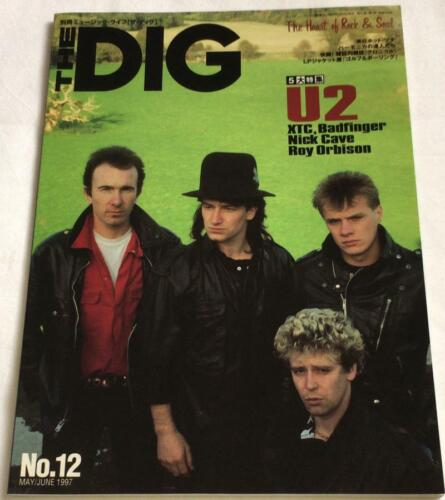 THE DIG CROSSBEAT 1997 #12 Japan Magazine U2 XTC Badfinger Nick Cave Roy Orbison