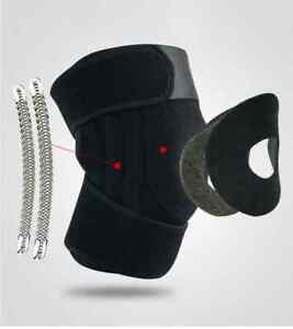 Knee Brace with with Double Side Spring
