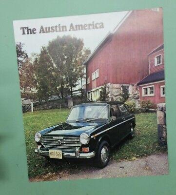 1969 Austin American brochure