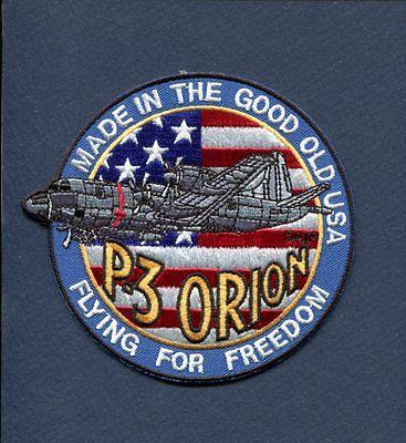 LOCKHEED P-3 ORION US NAVY Patrol Squadron Jacket Patch VP- VQ- FFF