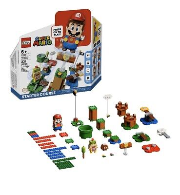 LEGO Super Mario Adventures Starter Building Kit, 231 Pcs, for Kids 6 Yrs and Up