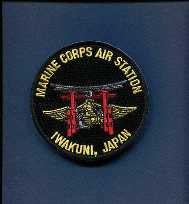 MARINE CORPS MCAS AIR STATION IWAKUNI JAPAN USMC Base Squadron Patch