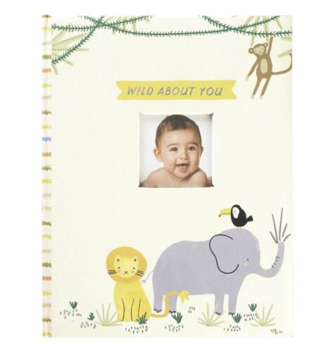 C.R. Gibson Baby Memory Book, Wild About You (B248-22583)
