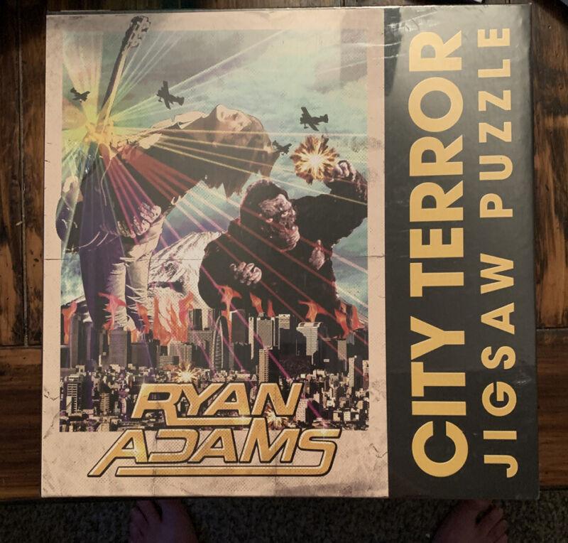 "NEW IN BOX,.Ryan Adams Puzzle - ""CITY TERROR"",RARE! SEALED🔥"
