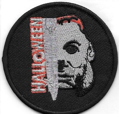 Halloween Movie Michael Myers Embroidered Patch Iron-On Sew-On fast US shipping