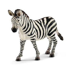 Schleich 14810 Zebra Female Wild Animal Model Mare Toy Figurine 2018 - NIP