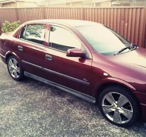 2002 Holden Astra Sedan Gosford Gosford Area Preview