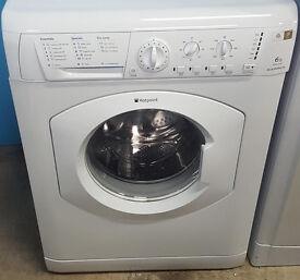 W135 white hotpoint 6kg 1400spin washing machine comes with warranty can be delivered or collected