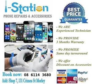 iPhone/iPad/Samsung/HTC/SONY/LG/HUAWEI Phone Repair Service Morley Bayswater Area Preview