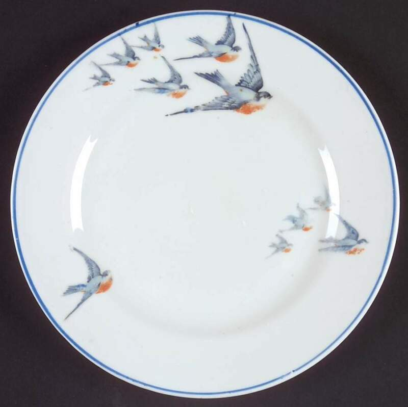 Buffalo Pottery Blue Bird Dessert Pie Plate 6225448