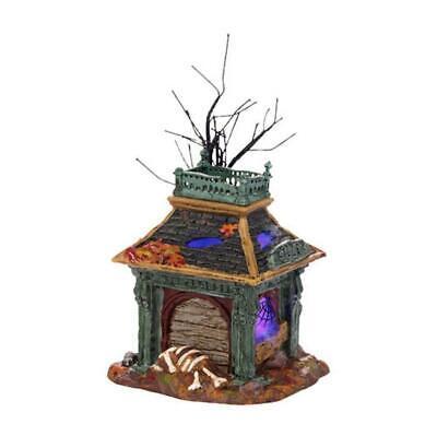Dept 56 Halloween KILLER'S CASTLE #4025402 NRFB Snow Village mordecai mansion *](Mordecai Halloween)