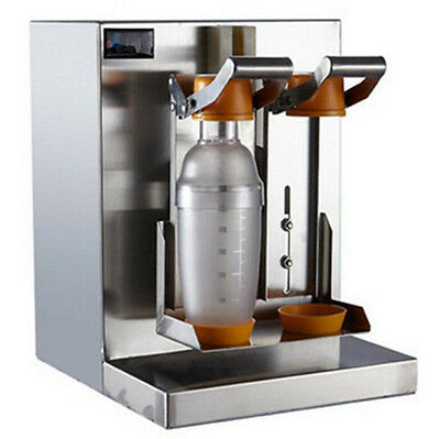 Double-frame Auto Bubble Boba Tea Milk Shaker Shaking Making Machine