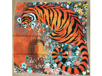 Hermès Tyger scarf celebrates the Indian Tiger