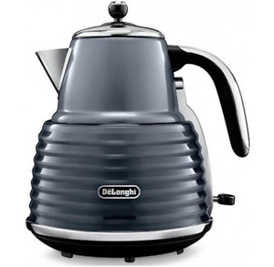 DeLonghi® Scultura Kettle - 2000W - 1.5L - Grey - NEW - Ex-Demo Malvern Stonnington Area Preview