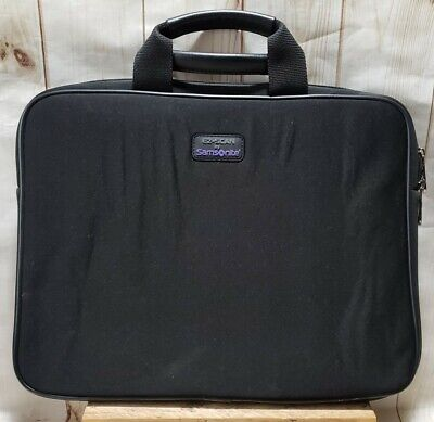 EZ-SCAN By Samsonite Black Padded Laptop Carrying Case 14.37 x 11.5 x 1.75