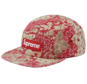 Buy Supreme Ss18 Washed Chino Twill Camp Cap Floral online  b53e18891a0