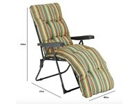 BRAND NEW, NEVER BEEN USED, SUN LOUNGER