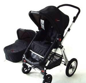 Brand New 2in1 Aluminium New Baby Pram Stroller Jogger Bassinet Auburn Auburn Area Preview