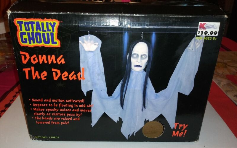 "FLOATING Totally Ghoul ""DONNA THE DEAD"" With Box! Rare!"