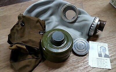 Russian GP-5 Gas Mask with Filter & Bag Military Surplus NEW LARGE