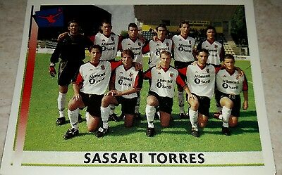 FIGURINA CALCIATORI PANINI 2000-01 SASSARI TORRES N°671 ALBUM 2001