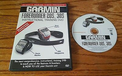 Gps Instructional Dvds (Garmin Forerunner 205, 305 Instructional Training DVD - Bennett Marine Video)