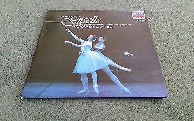 411 848-1 ADAM GISELLE RICHARD BONYNGE 2 LP L'Orchestre National de Monte Carlo