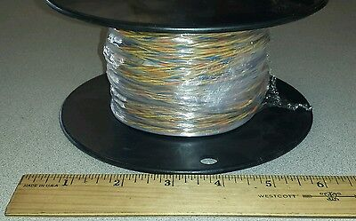 138 Ft Spool Mil-spec M27500-20mw3u00 20awg Twisted Cable Wire 3c-19c 600v
