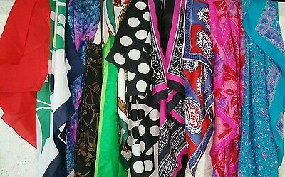Scarves and Wraps Lot of 11 Pre-owned Mix