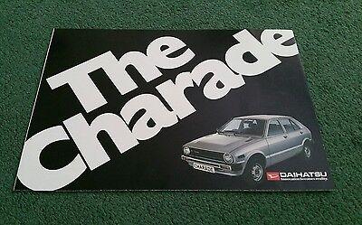 1979 1980 DAIHATSU CHARADE UK COLOUR FOLDER - BROCHURE Tillbridge Motors Lincoln