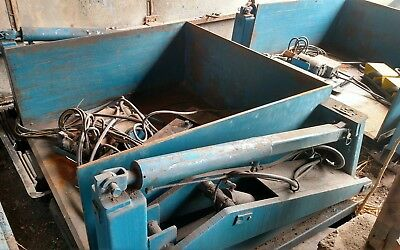 Ts 4000lb Electric Hydraulic Loading Dock Lift No Forklift Vestil Table 2 Ton