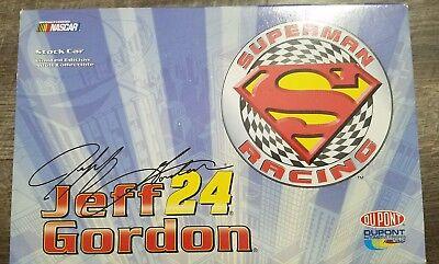 Action NASCAR 1:24 Car Jeff Gordon  #24 Dupont/Superman Chevy Monte Carlo
