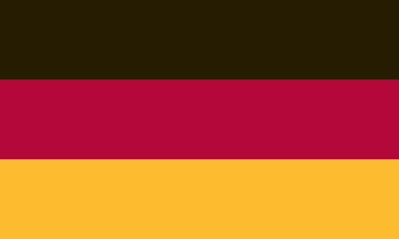 2x3FT 2 x 3 FT SEWN GERMAN GERMANY SolarMax Nylon Flag