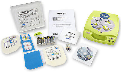 Zoll Aed Plus Trainer2 With Remote Cpr-d Training Pads Replacement Gels More